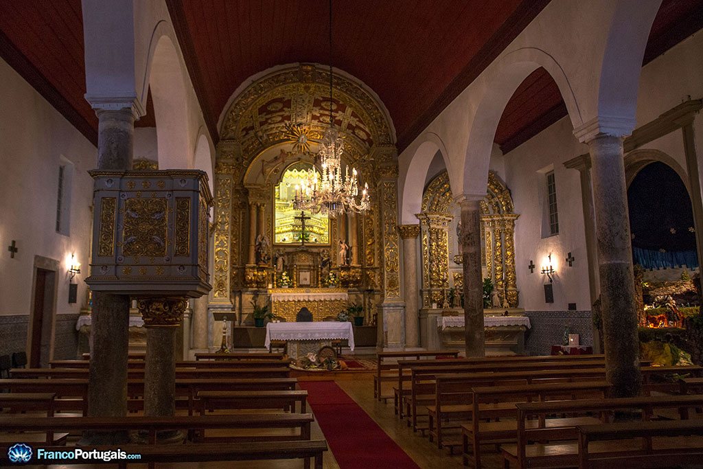 intérieur de l'église de São Miguel
