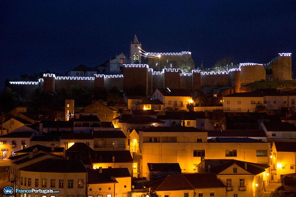 Château de Penela, une nuit de Noël