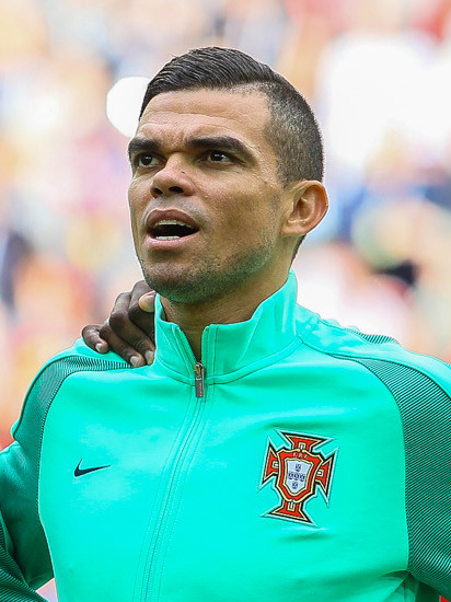 Pepe, joueur brésilien naturalisé portugais.