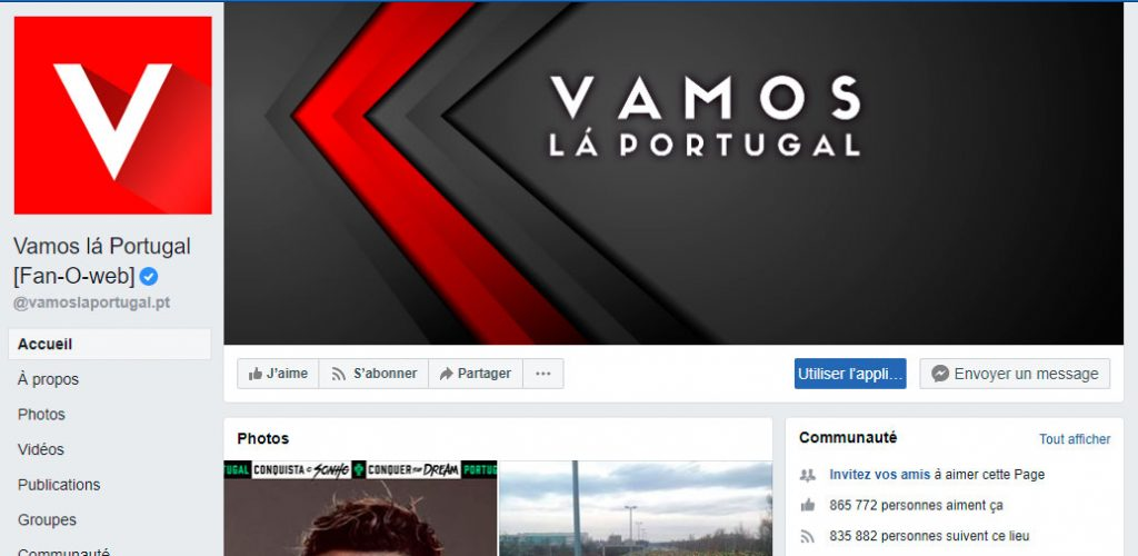vamos lá portugal, raclures du web