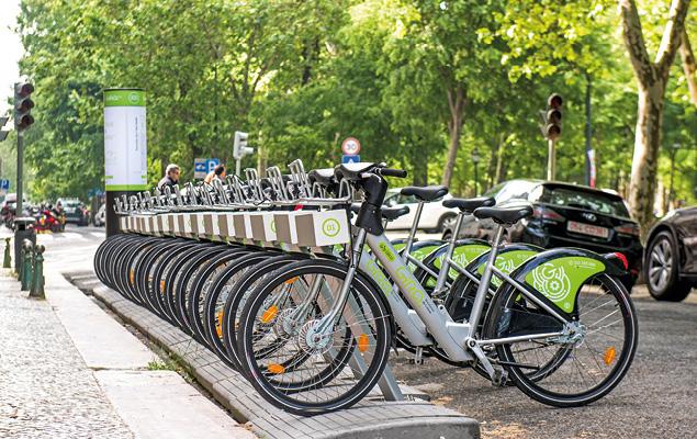 Gira, bicicletas de Lisboa