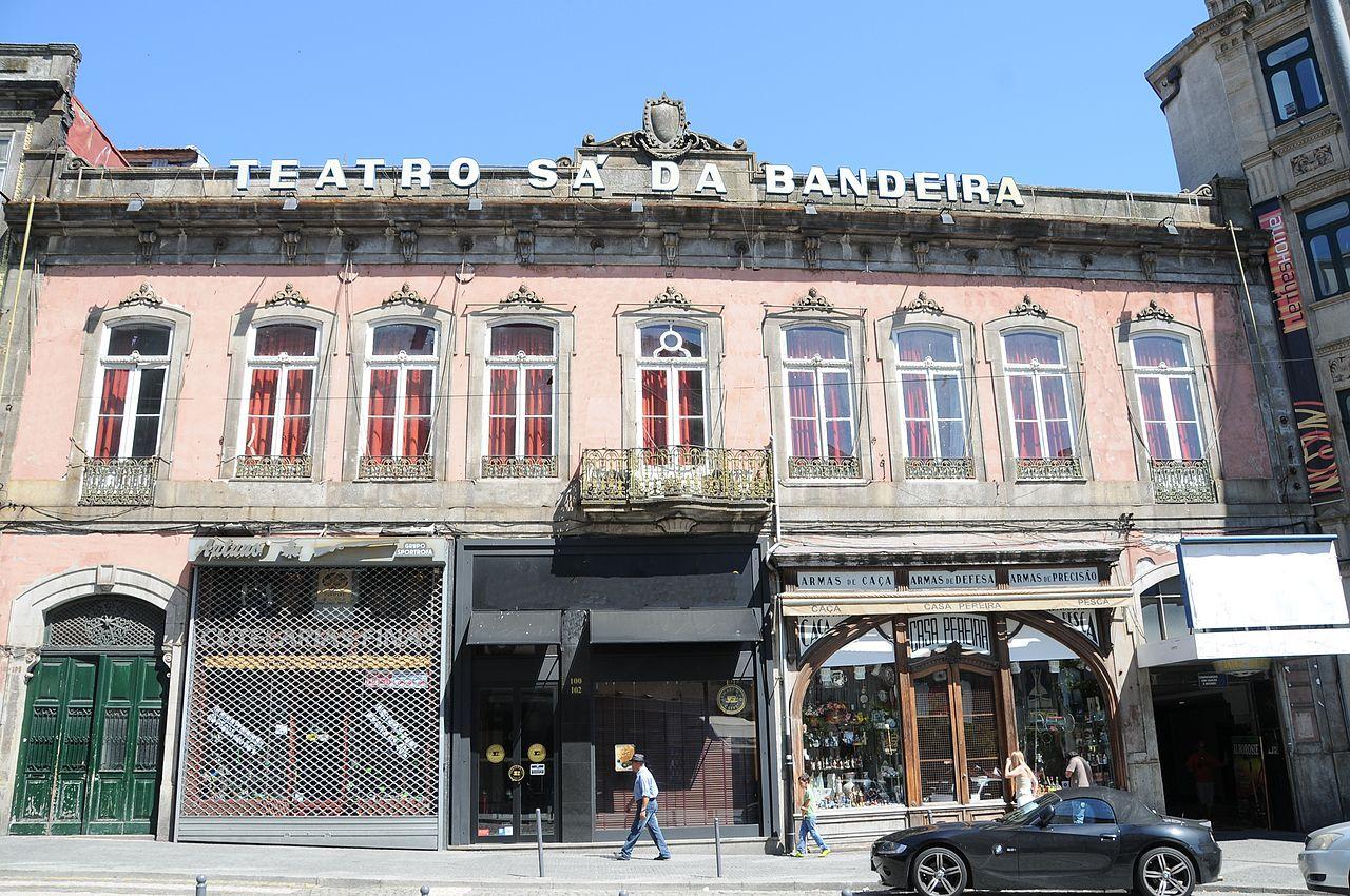 Theatre Sa da Bandeira. Porto