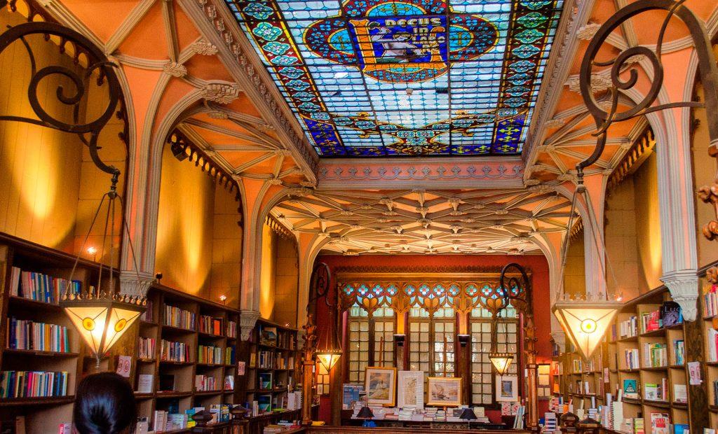 Librairie Lello. Porto.