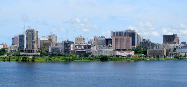 Abidjan, capitale économique de la Côte d'Ivoire.