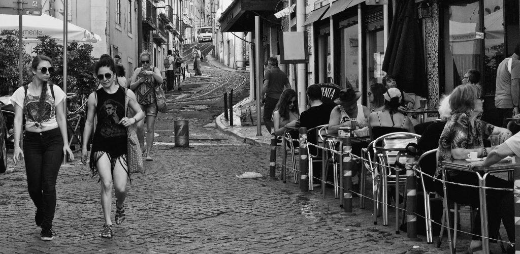 une rue de Alfama