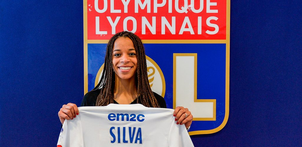 Jessica Silva à l'OL