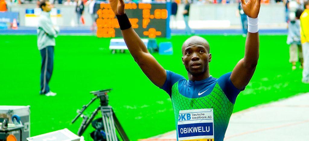 Francis Obikwelu, athlète portugais d'origine nigériane.