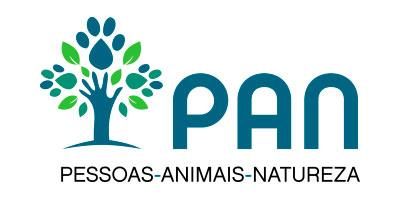 logo du PAN, Pessoas Animais Natureza