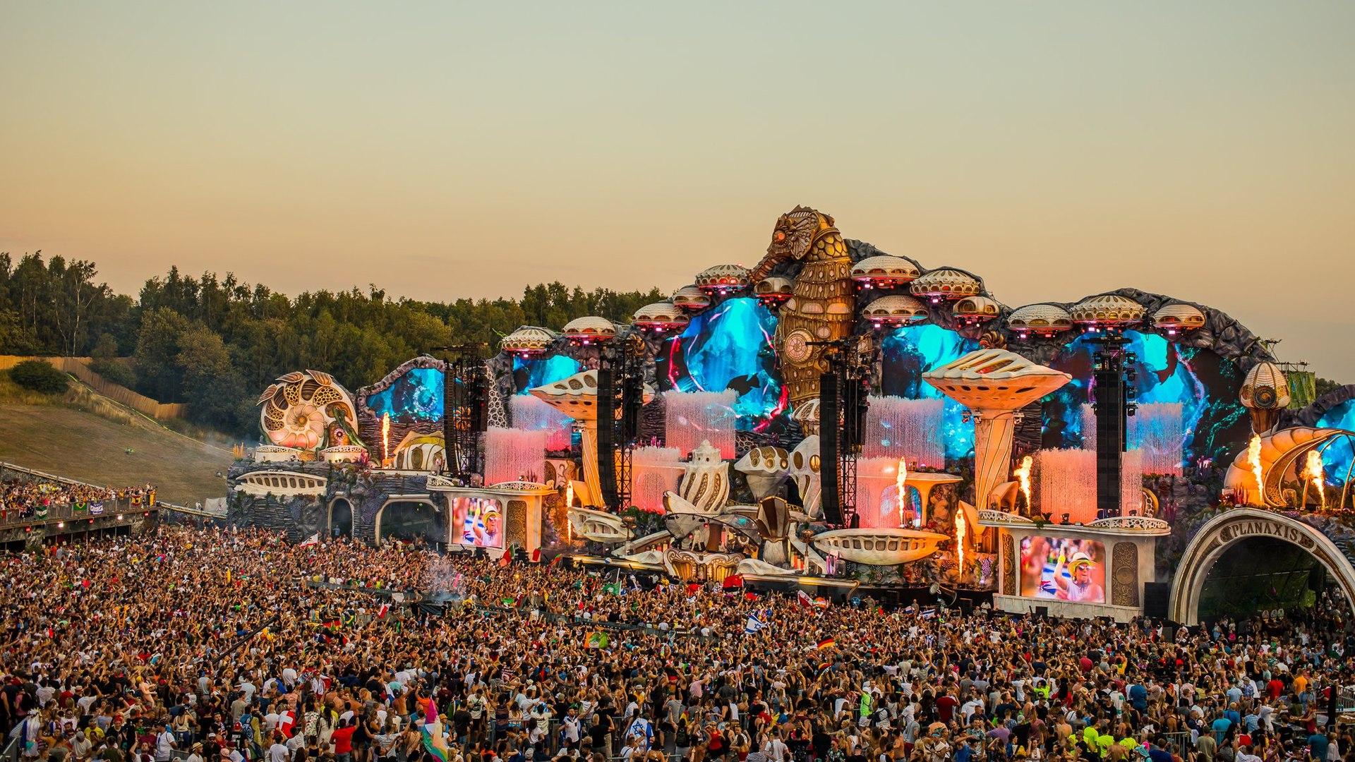 Le festival de musique électronique Tomorrowland à Porto