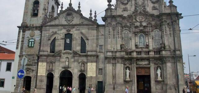 Eglise du Carmo à Porto