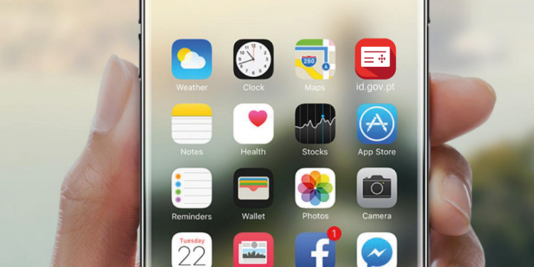 interface smartphone