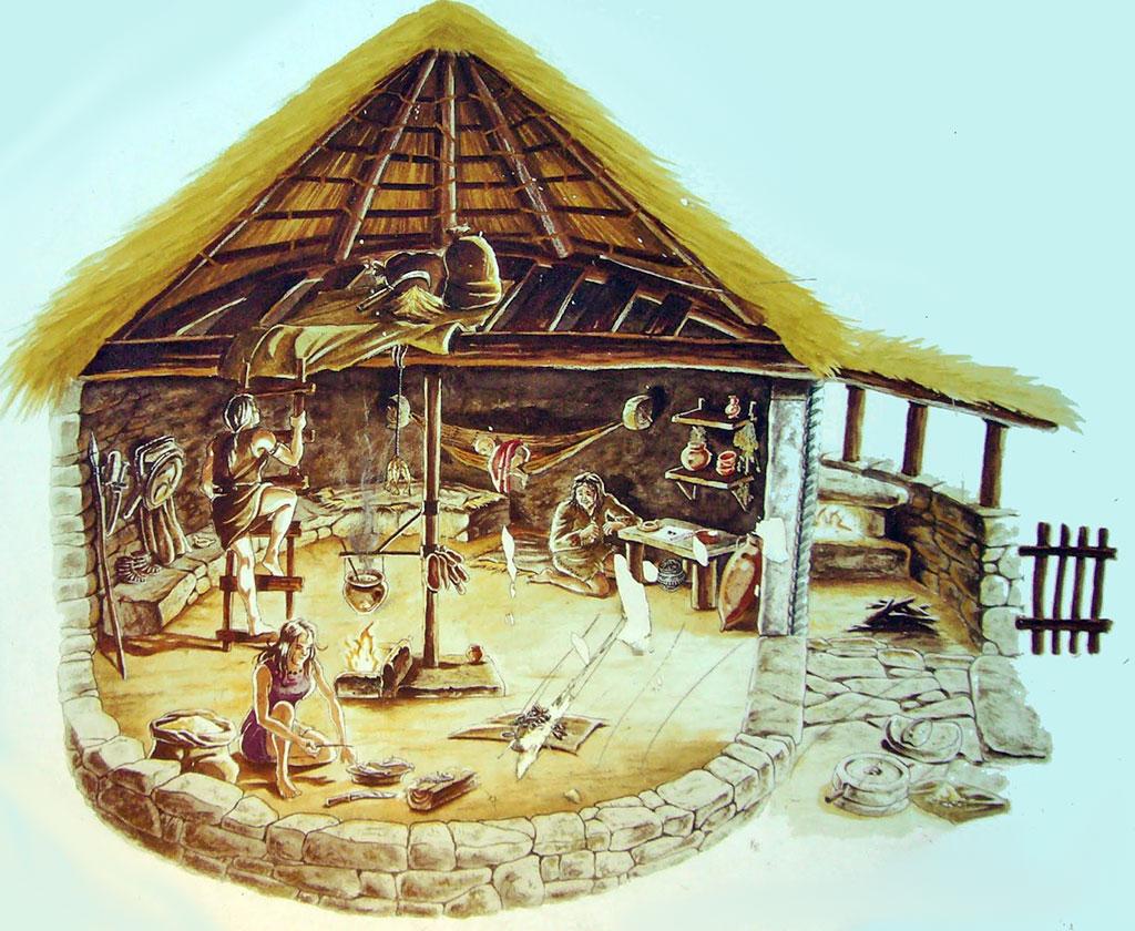 habitation celtique