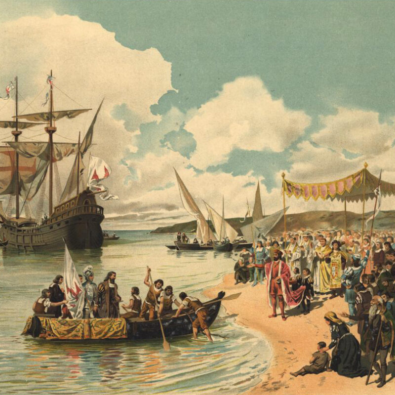 Départ de Vasco de Gama vers l'Inde.
