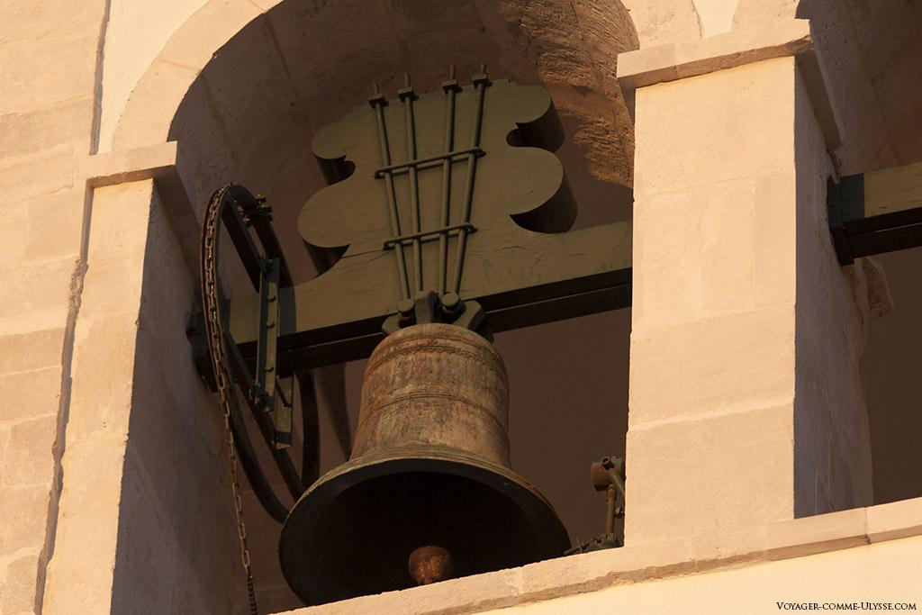 Une des cloches de l'église.