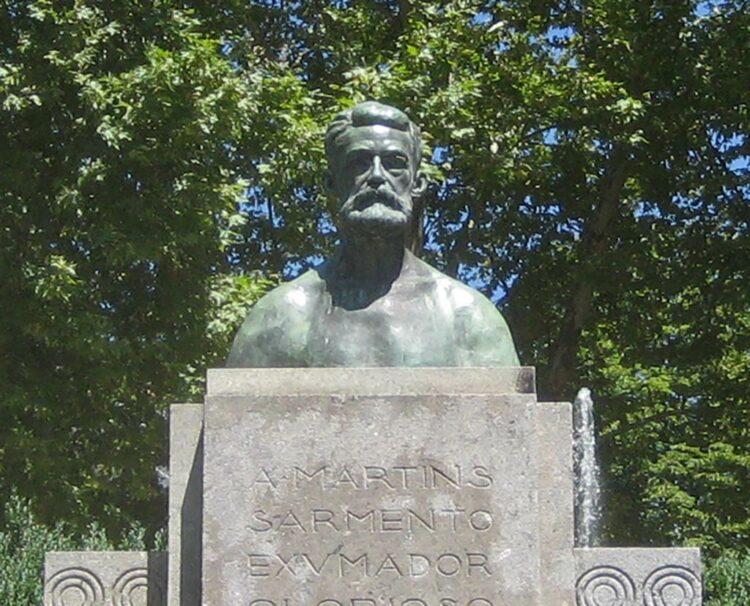 Buste de Martins Sarmento à Guimarães.
