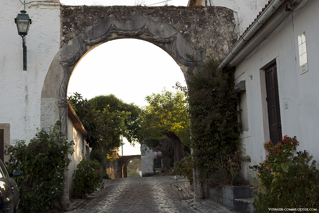 Le portail de style manuélin
