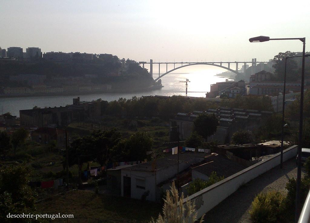 Le Campo do Rou, un coin de campagne à Porto.