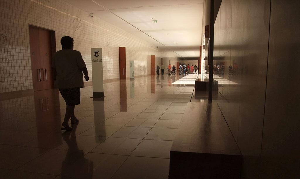 Couloir des chapelles