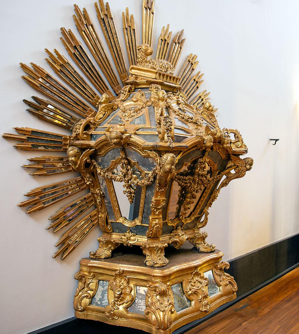 Urne du Saint Sacrement