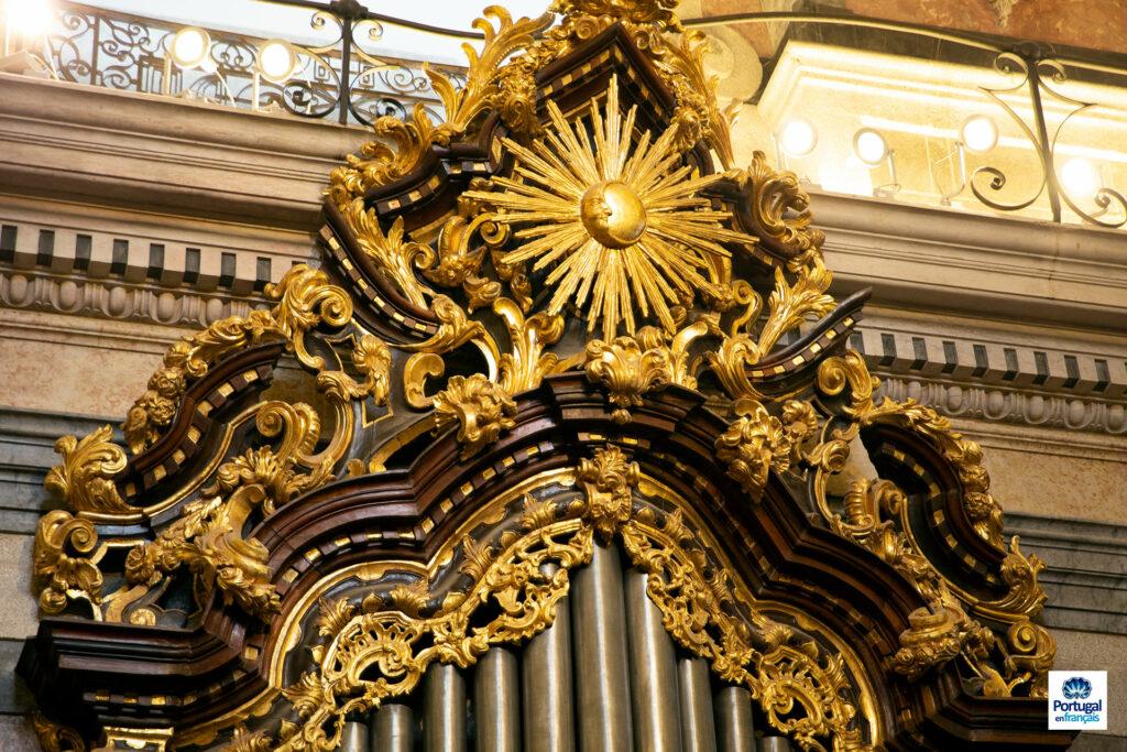 Décoration de l'orgue