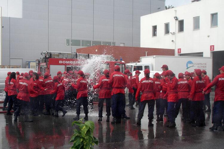 bizutage des pompiers
