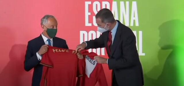 échange maillots Espagne Portugal