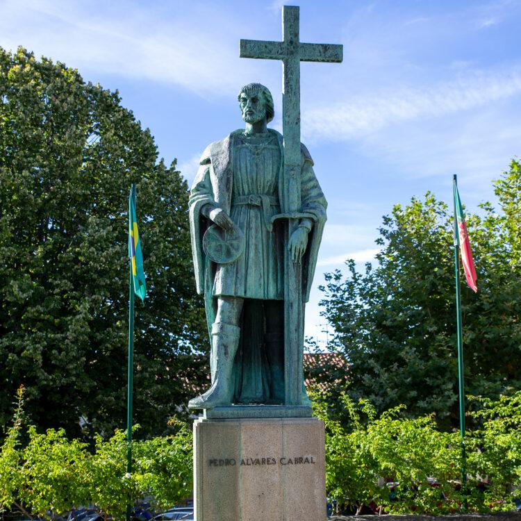 Statue de Cabral à Belmonte