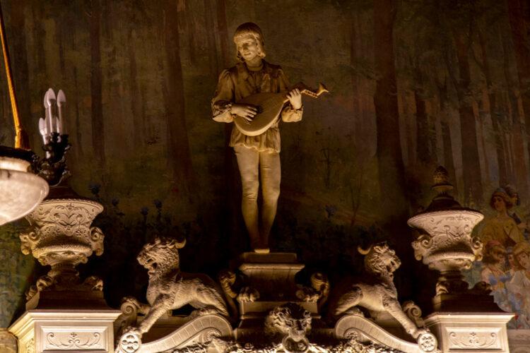 Joueur de Mandoline