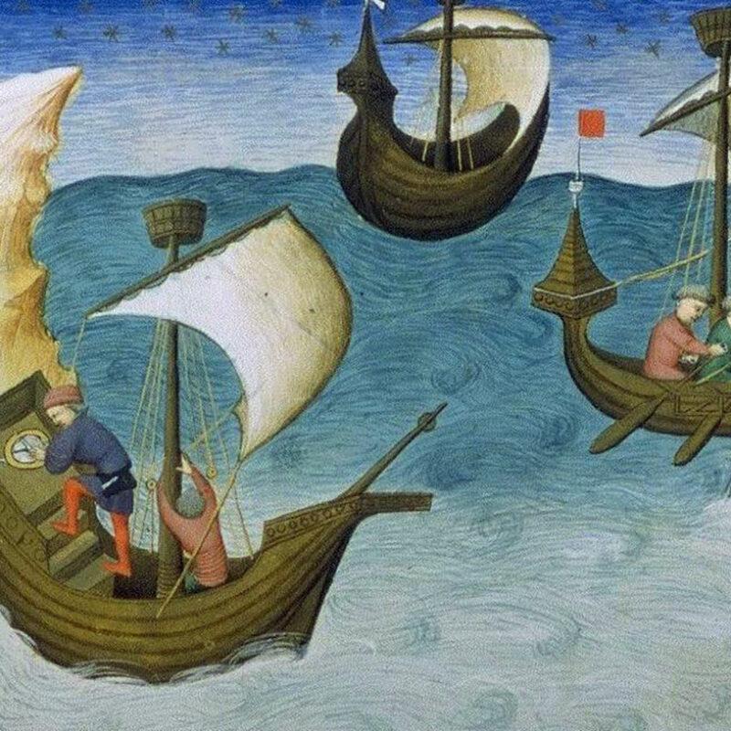 Bateaux au Moyen Âge