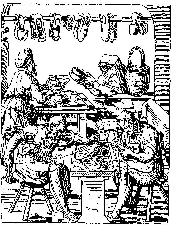 Artisans cordonniers