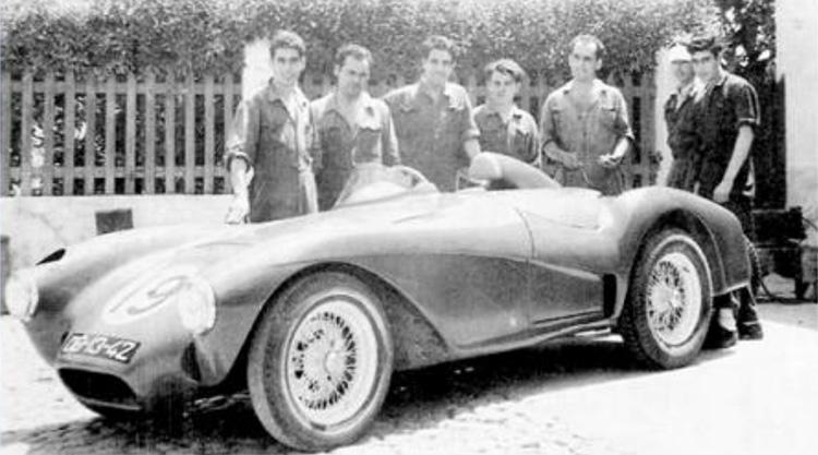 MG Canelas de 1954