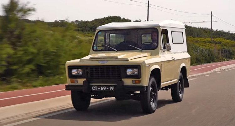 Portaro de 1980, encore très similaire au modèle roumain