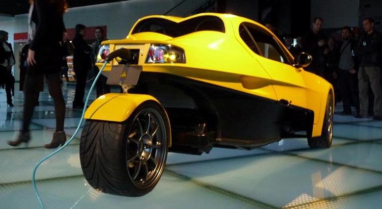 Veeco, voiture électrique portugaise