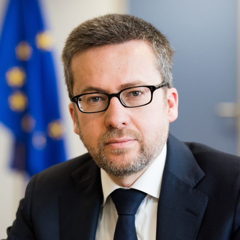 Carlos Moedas, maire de Lisbonne