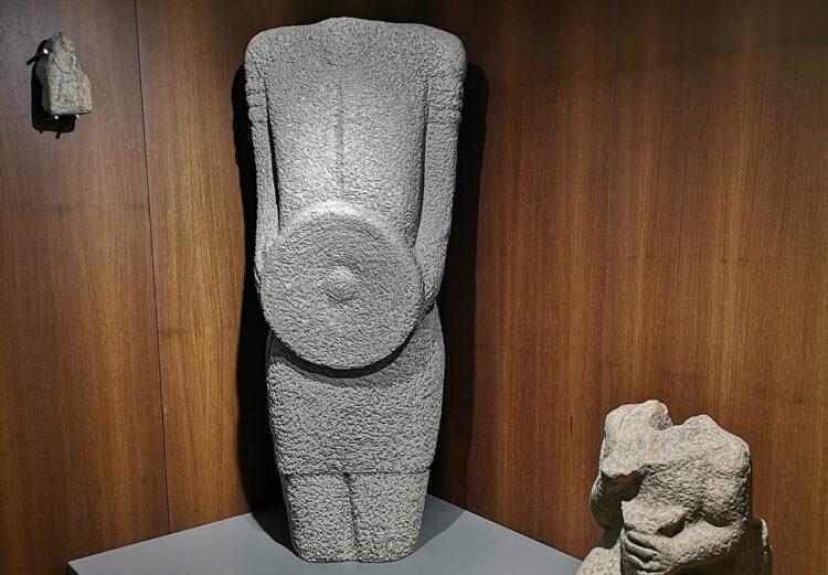 Statue d'un guerrier gallaeci