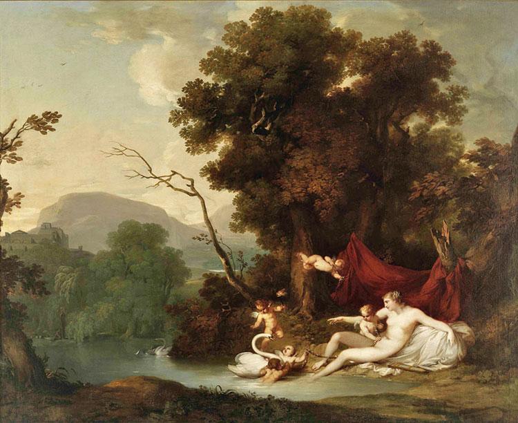 Jupiter et Léda, Vieira Portuense